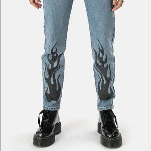 Urban Outfitters Jeans - Adika flame jeans